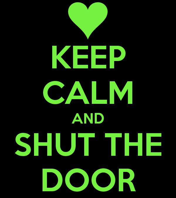 Do You Shut Your Office Door?