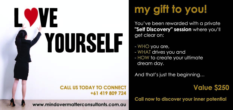 Mind Over Matters - DL Flyer Gift