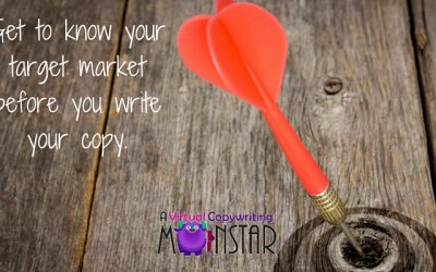 Get to know your target market before you write your copy