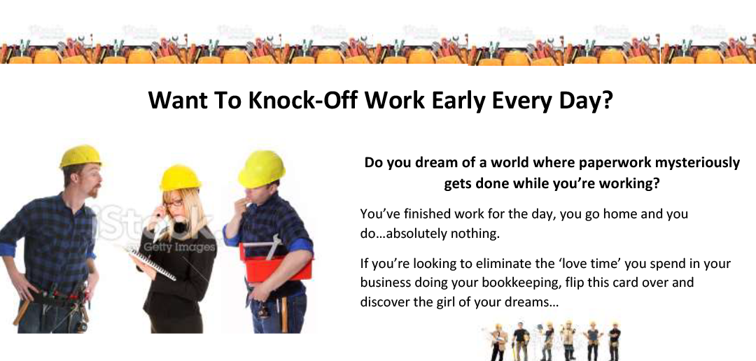 PA For Tradies DL Flyer - Copywriting Sample 1