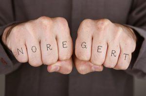 No regerts tattoo