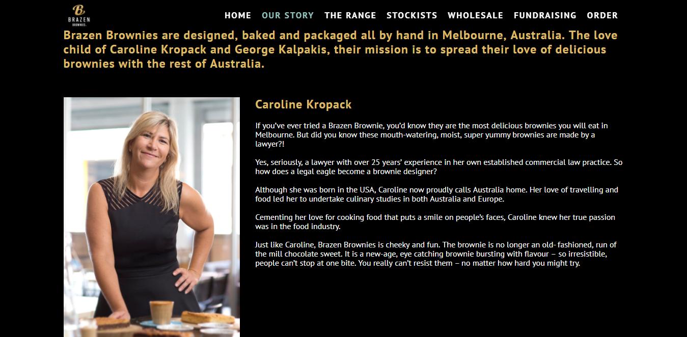 Caroline K bio